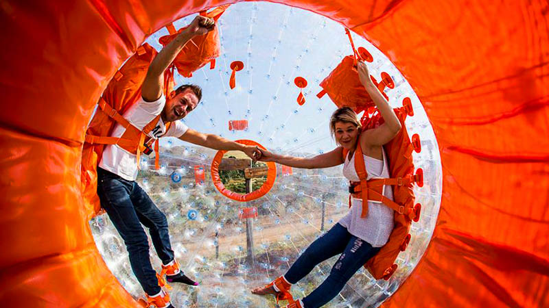 Things to do in Durban, Zorbing - 22seven Blog